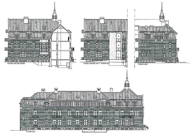 Planerat bygge av 24 lägenheter i Örebro