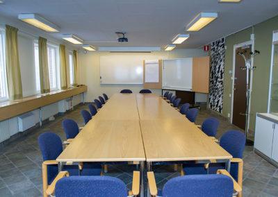 Konferensrum finns i huset, Nora