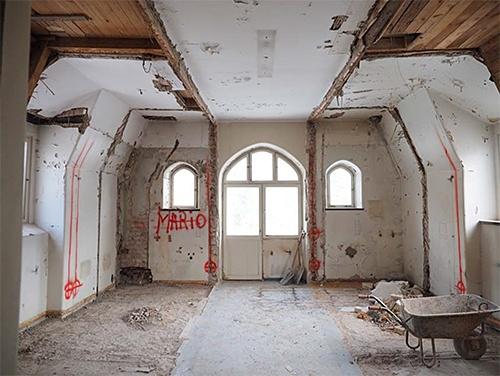 Byggmöte, Ånsta i Mars 2018