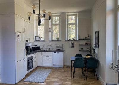 Interiör, Liten lägenhet, Sanatorieskogen 7