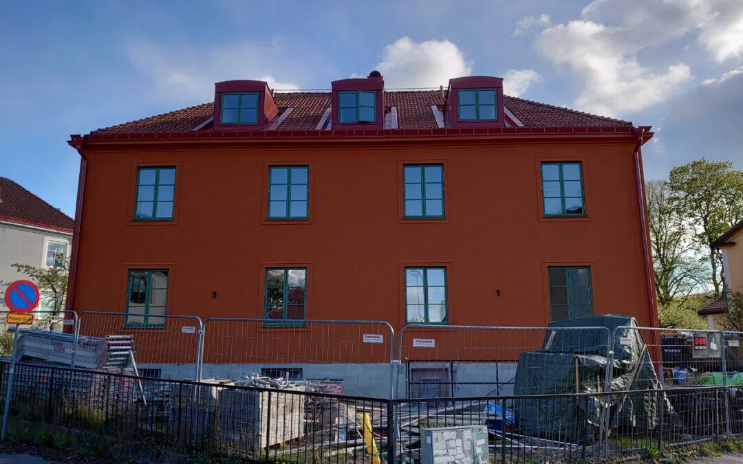Nyrenoverad lägenhet på Norr i Örebro