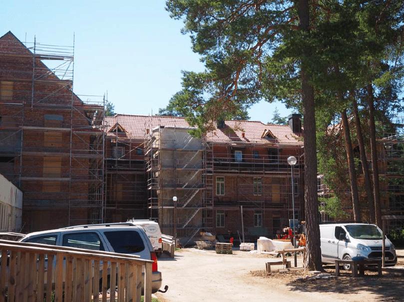 Byggmöte, Ånsta i början på juli 2018