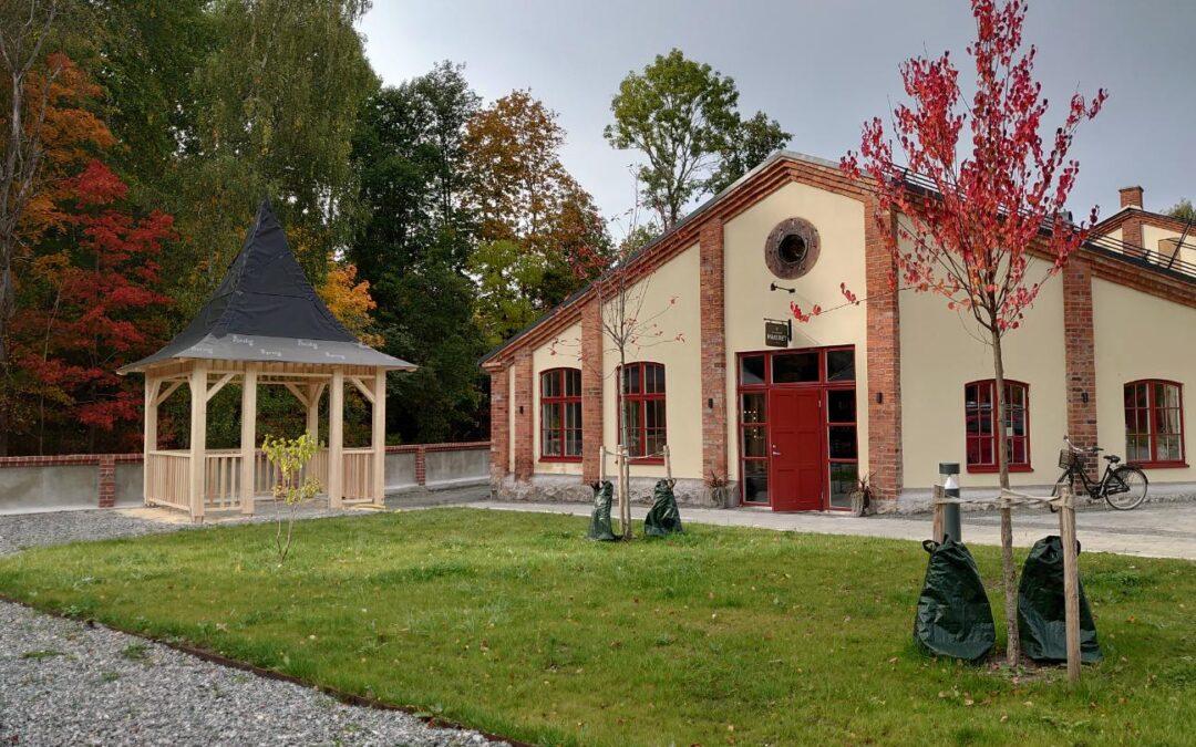 Lusthus på bryggeriområdet