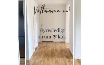 Nyrenoverad lägenhet i Nora